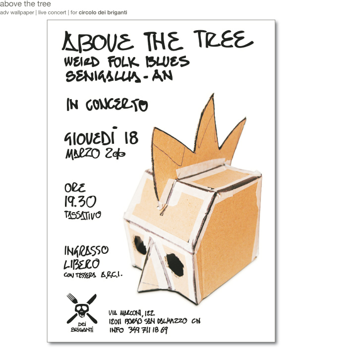 above the tree page