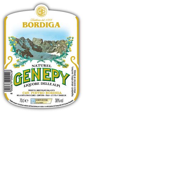 bordiga genepy label