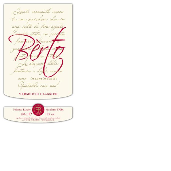 vermouth monforte label